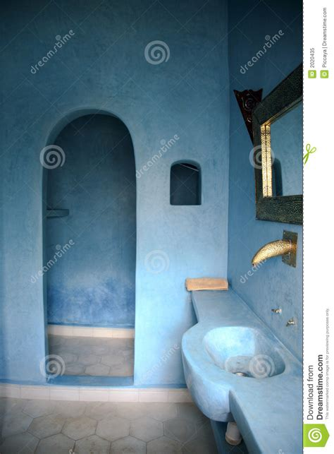 Nature Themed Bathroom by Moroccan Bathroom Royalty Free Stock Photo Image 2020435