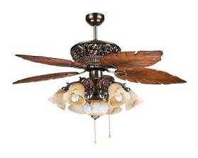 Tropical Style Ceiling Fans Large Tropical Ceiling Fan Light With 5 Maple Leaves Blade