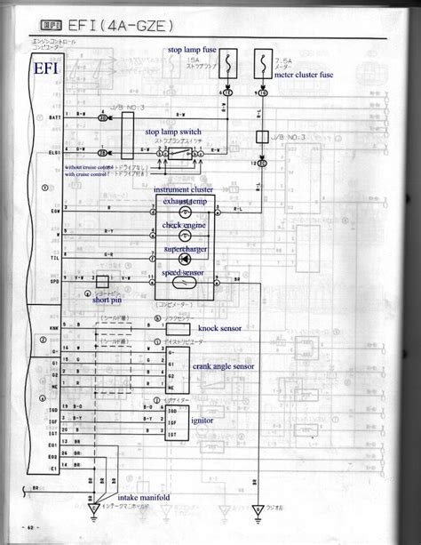 4agze wiring harness 20 wiring diagram images wiring