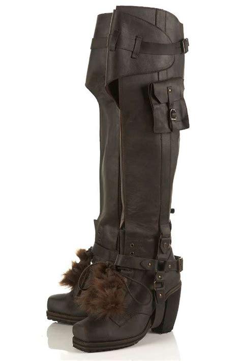 unique boots cargo combat boots topshop unique aw2010 boots