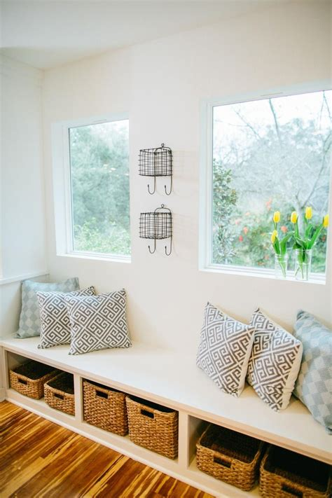 bench bay window fixer upper bringing a modern coastal look to a quot faceless