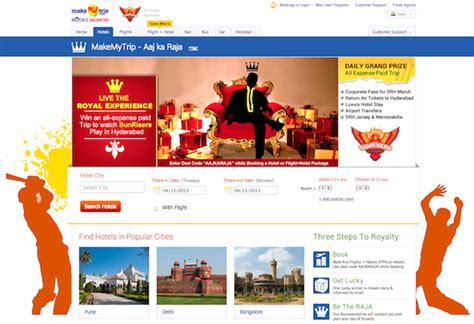 make my trip calendar dive analysis on how indian travel brands ride on ipl