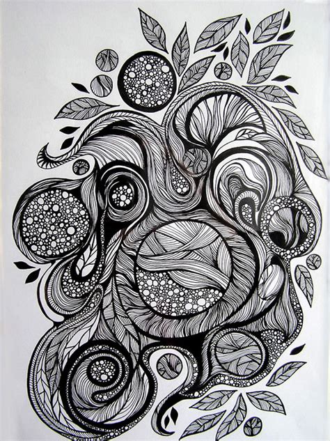 doodle pen and ink doodling a way of meditation and charity cctv news