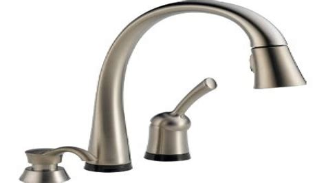 touch kitchen faucet touch kitchen faucet delta 980tsddst pilar single handle