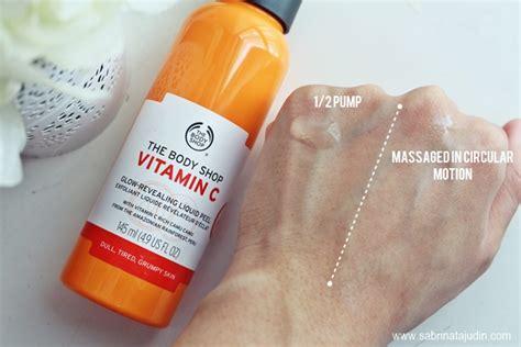Harga Peeling Gel The Shop the shop peeling gels review sabrina tajudin