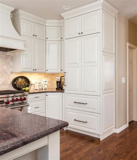 floor to ceiling storage cabinets luxurious functional greenwood village kitchen remodel