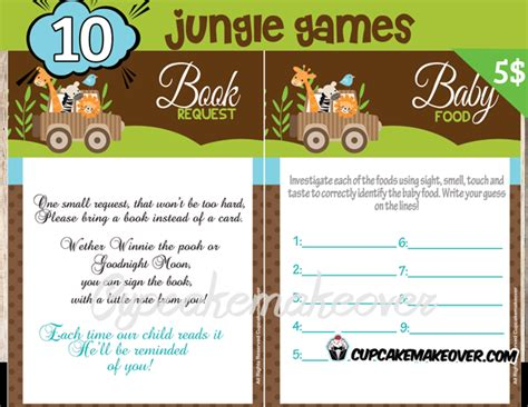 baby shower booklet template baby shower booklet template printable free printable