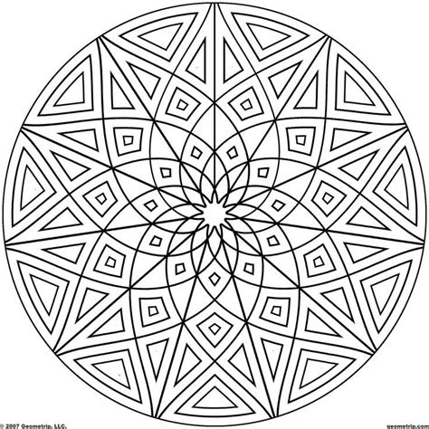 printable coloring pages kaleidoscope kaleidoscope coloring pages coloring home