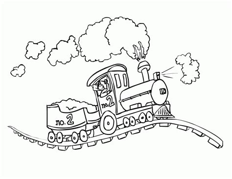 coloring pages of trains with cars free coloring pages of cars