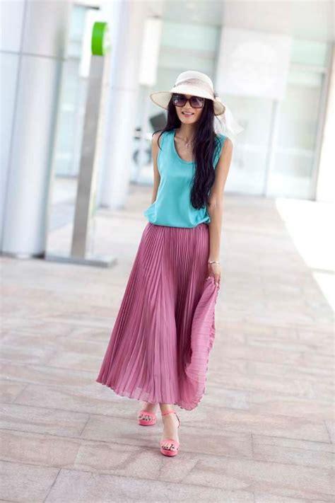 best ways to wear your maxi skirt in summer 2018