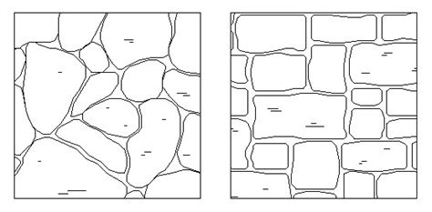 stone pattern cad block free autocad stone hatch patterns