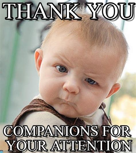 Thanks Baby Meme - thank you sceptical baby meme on memegen
