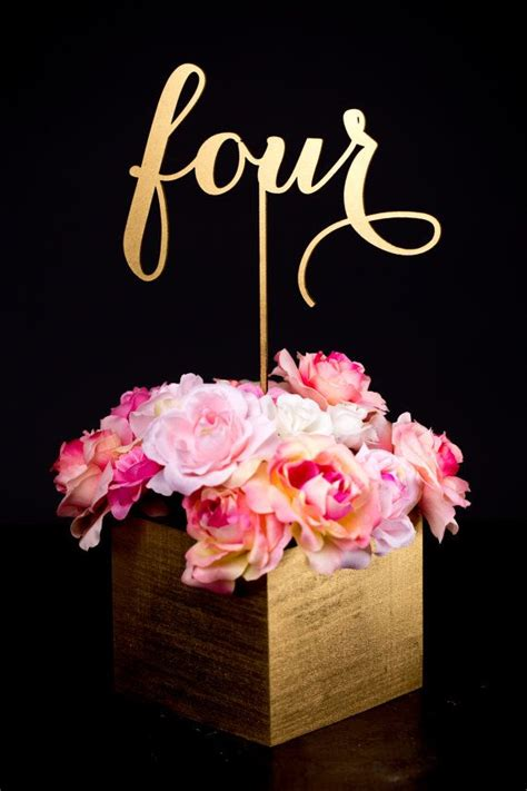 gold wedding table numbers gold wedding gold wedding table numbers 2064817 weddbook