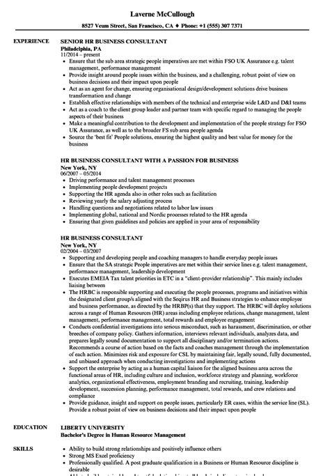 hr business consultant resume hr business consultant resume samples velvet jobs