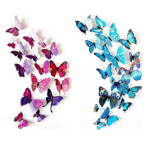 3d butterfly stickers for walls buy wholesale sticker butterfly from china sticker