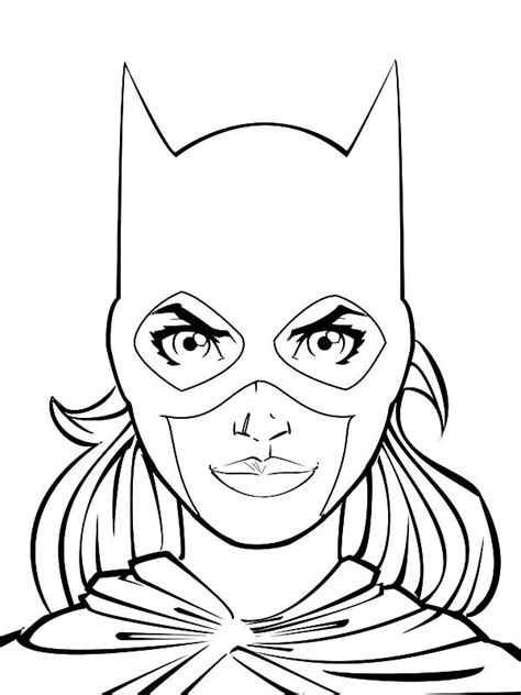 batgirl coloring pages batgirl and supergirl coloring pages