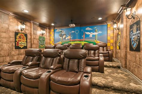 home theater design orlando fl orlando vacation homes with movie theaters top villas