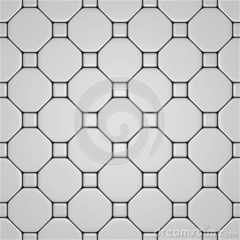 White Floor With Different Tiles Stock Photography   Image