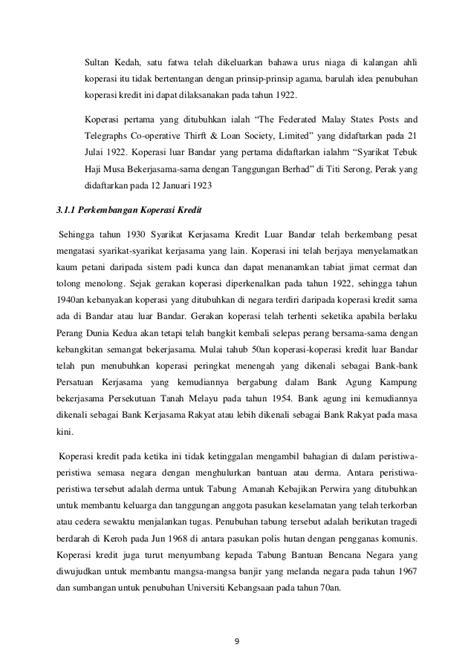 membuat neraca awal koperasi sejarah gerakan koperasi di malaysia