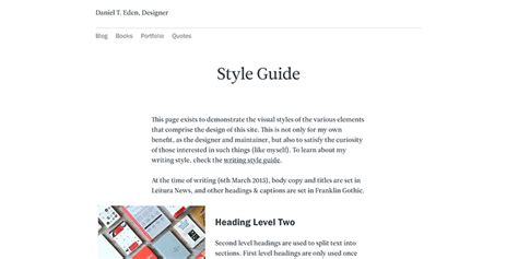 visual style guide template images templates design ideas