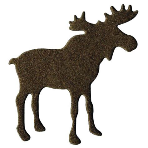 moose template lifestyle crafts die cutting template moose
