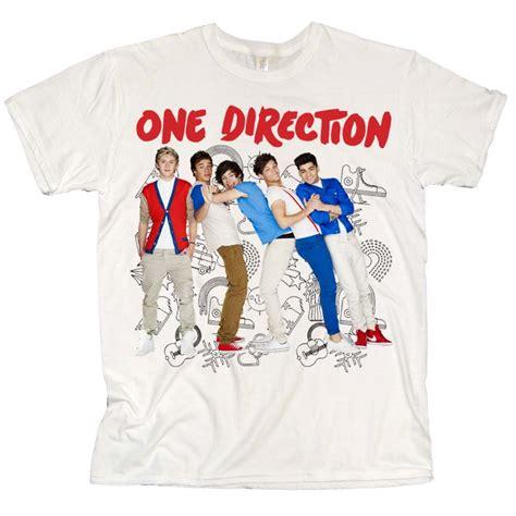 Tshirt One Clothing t shirt one direction merchandise