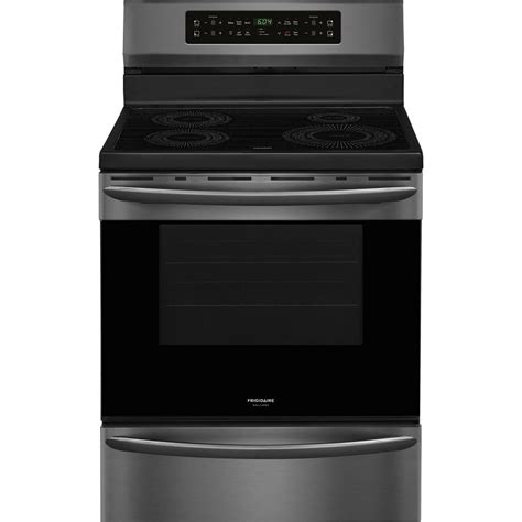 oven electric range with induction cooktop frigidaire gallery 30 in 5 4 cu ft induction range with