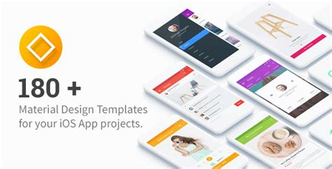 Ui Templates For Ios 180 Ui Templates For Your Ios App Projects By Wpbootstrap Ios App Ui Templates
