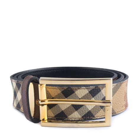 Bd4021 Pw Burberry Classic burberry classic haymarket check belt labelcentric