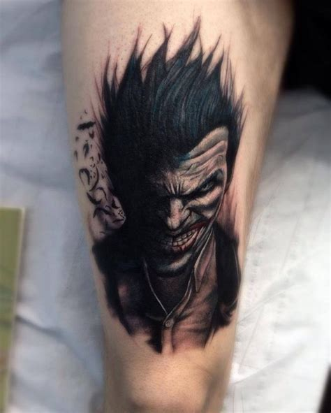 batman and joker tattoo best 25 joker tattoos ideas on joker sucide