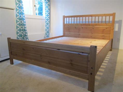 ikea pine bed ikea hemnes pine queen bed victoria city victoria