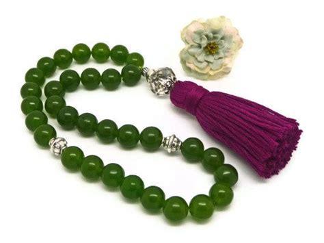 Tasbih Lilit Kelor 108 Buddhist green jade tasbih muslim prayer black by alsafinashop 40 50 accessories