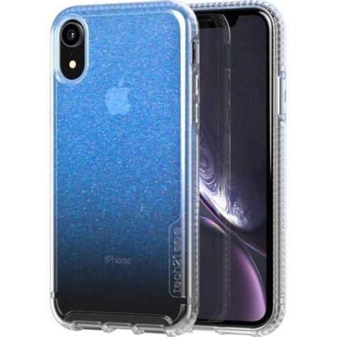 iphone xr pure shimmer bulletshield case  tech