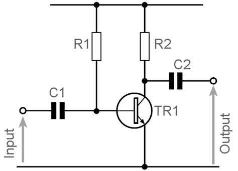 transistor lifier circuit design common emitter lifier design electronics notes