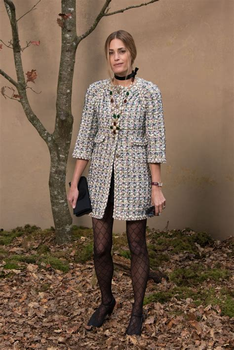 Winter At Chanel by Yasmin Le Bon At Chanel Show Fall Winter 2018