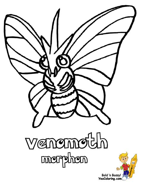pokemon coloring pages butterfree non stop pokemon pictures nidoqueen arcanine boys