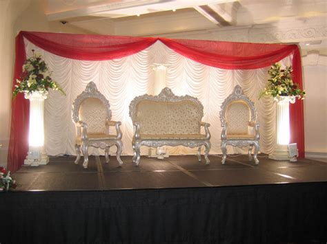 Stage Decoration Simple by Wedding Decorations Chak89