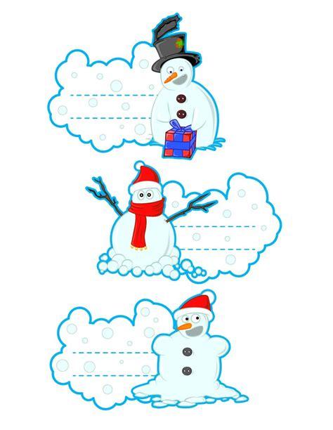printable snowman tags how to craft snowmen hellokids com
