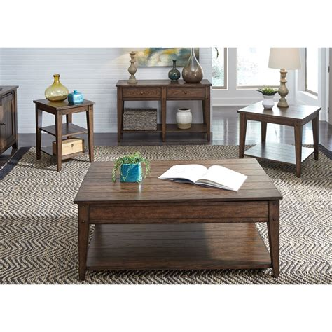 liberty furniture lake house 210 ot1020 1 drawer end table