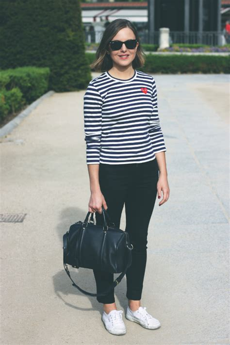 Cdg Stripe Dress effortless nautical to copy now stylecaster