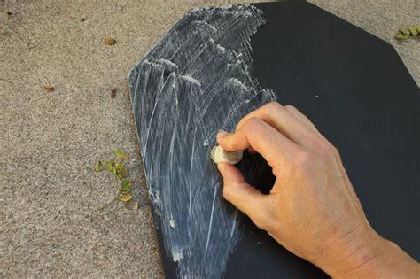 diy chalk paint thick diy chalkboard tombstone