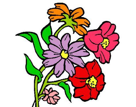 imagenes de flores infantiles a color dibujo de beellaas pintado por yoselinn en dibujos net el