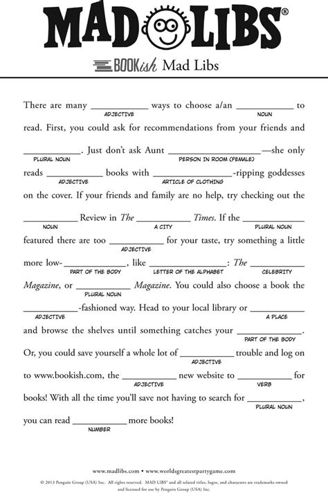mad lib template mad libs for search for