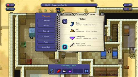 the escapist craft the escapists master craftsman trophy guide all crafting