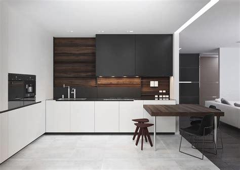 best 25 black white kitchens ideas on pinterest contemporary kitchen counters modern kitchen