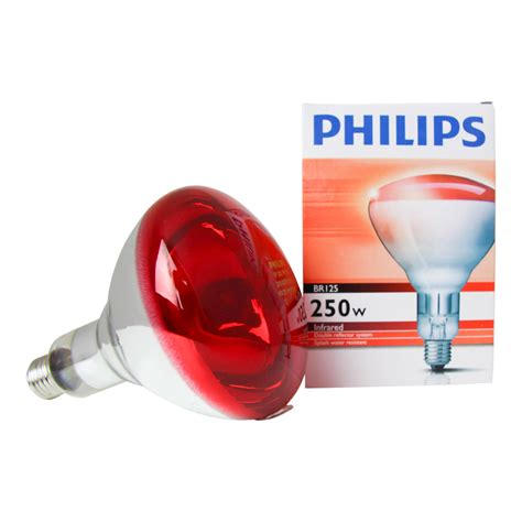 Philips Infrared philips br125 ir 250w e27 230 250v