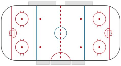 hockey rink diagrams design elements hockey rinks hockey rinks vector