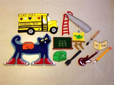 pete the cat school shoes pete the cat rocking in my school shoes felt board story