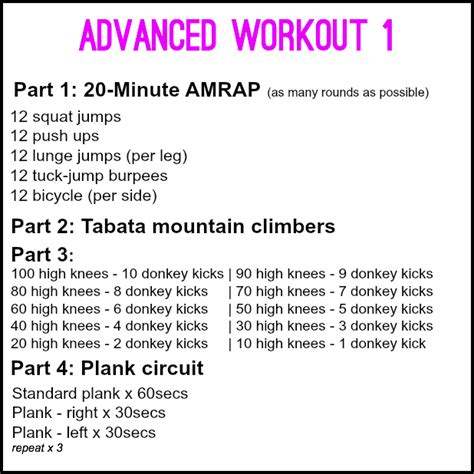 tabata archives lazy fitness