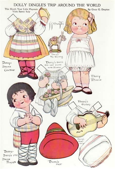 pattern paper doll 467 best paper dolls images on pinterest vintage paper
